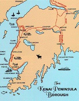 Map Of Kenai Peninsula Alaska Regional Maps and Kenai Peninsula Maps Map Of Kenai Peninsula